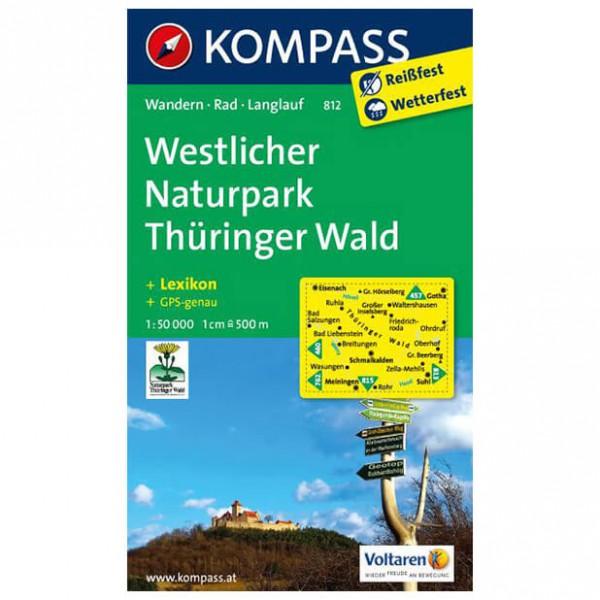 Kompass - Westlicher Naturpark Thüringer Wald - Vandringskartor