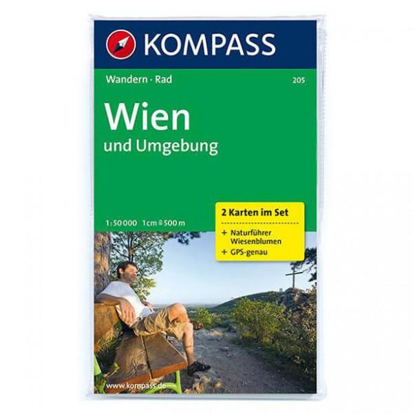 Kompass - Wien und Umgebung - Wandelkaarten