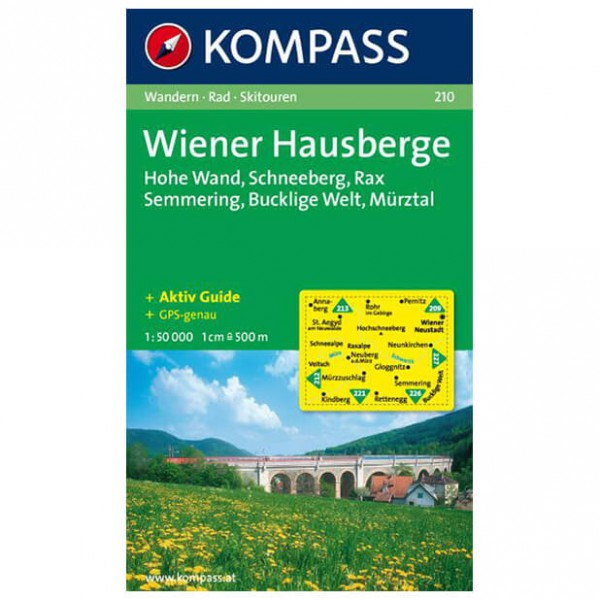Kompass - Wiener Hausberge - Cartes de randonnée