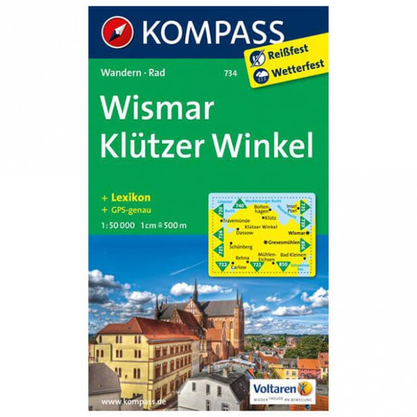 Kompass - Wismar - Wandelkaarten