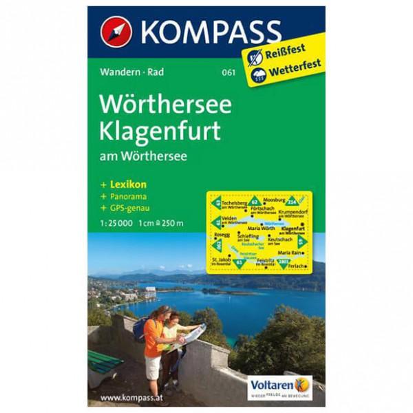 Kompass - Wörthersee - Wandelkaart