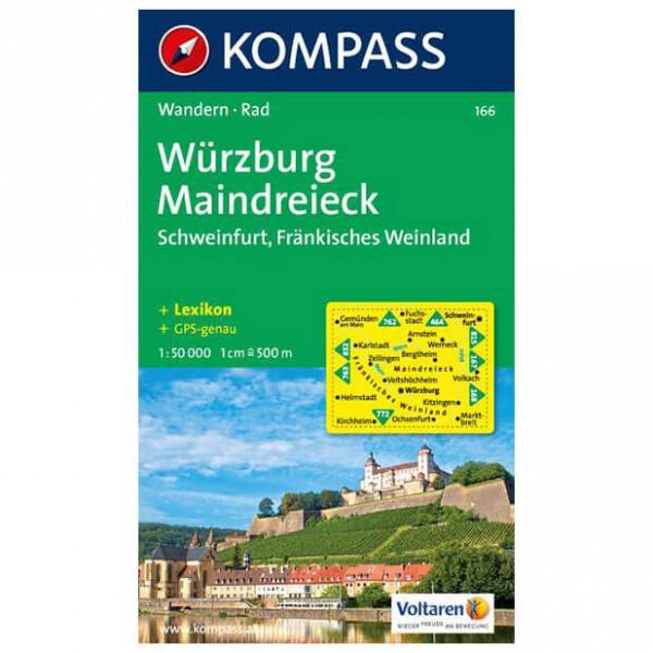 Kompass - Würzburg - Vandrekort