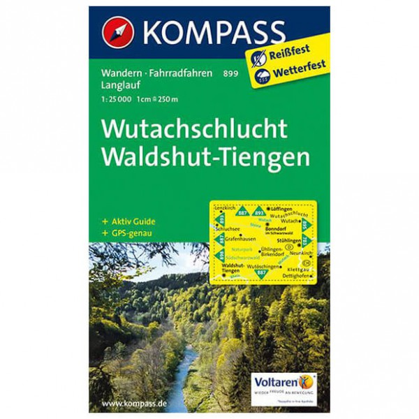 Kompass - Wutachschlucht - Hiking Maps