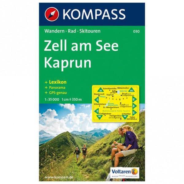 Kompass - Zell am See - Mapa de senderos