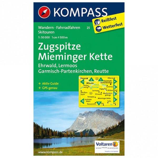 Kompass - Zugspitze - Cartes de randonnée