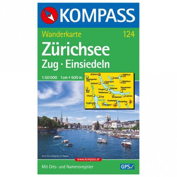 Kompass - Zürichsee - Vaelluskartat
