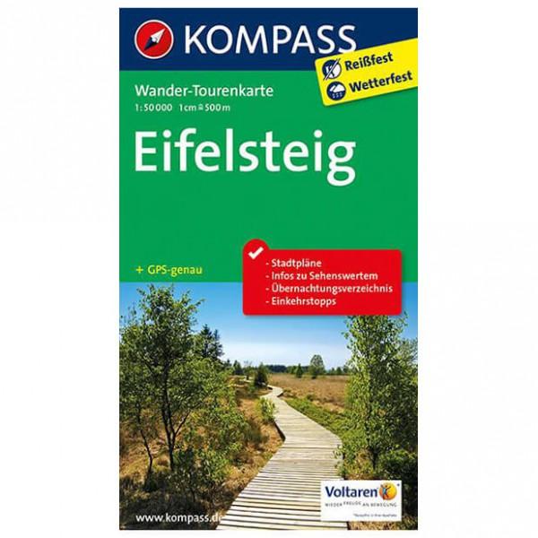 Kompass - Eifelsteig - Wander-Tourenkarte