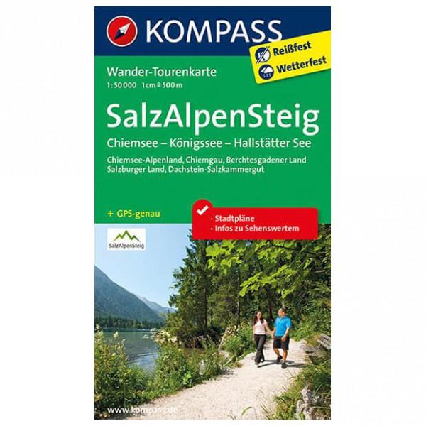 Salz-Alpen-Steig - Hiking map