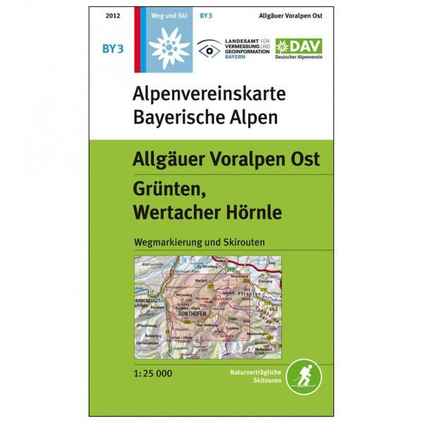 DAV - Allgäuer Voralpen Ost, BY3 - Vandringskartor