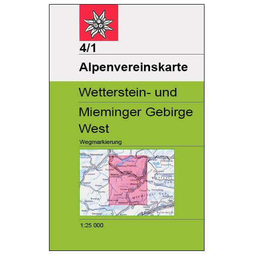 DAV - Stubaier Alpen, 31/2 - Vandrekort
