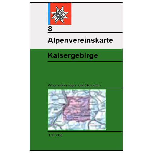 DAV - Kaisergebirge, Blatt 8