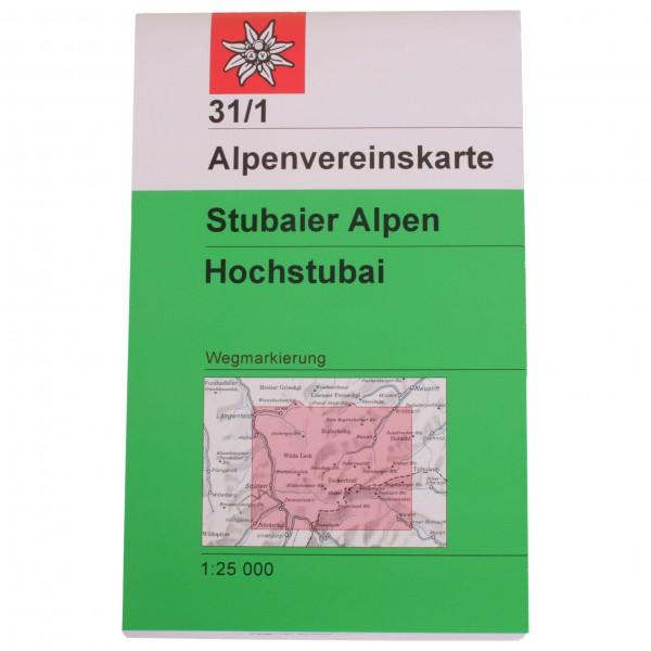 DAV - Stubaier Alpen - Hochstubai Kombiausgabe WEG/SKI
