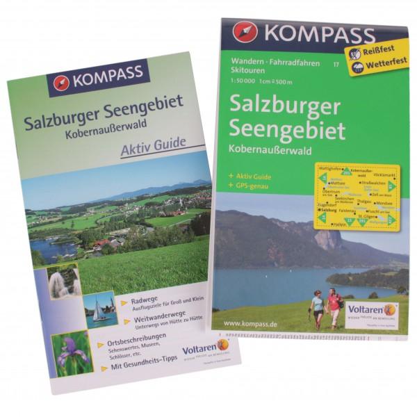 Kompass - Salzburger Seengebiet - Vandrekort