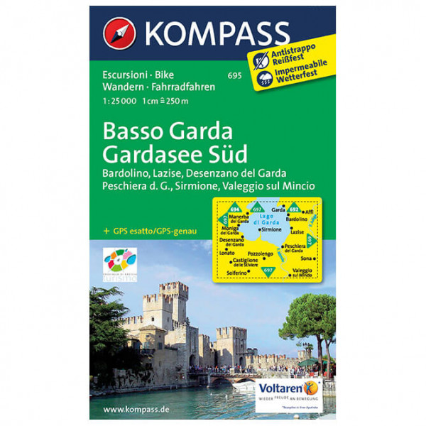 Kompass - Basso Garda - Wandelkaarten