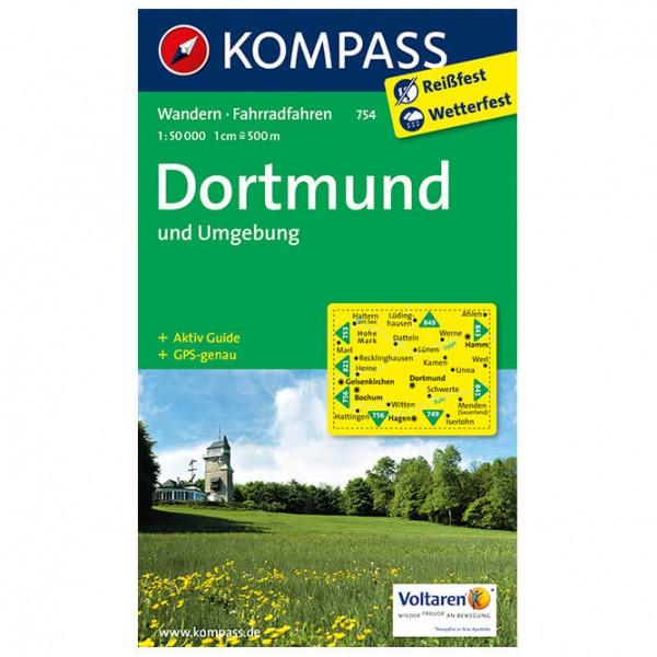 Kompass - Dortmund Und Umgebung - Mapa de senderos