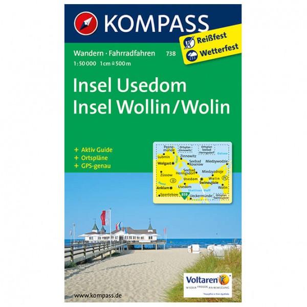 Kompass - Insel Usedom - Vandringskartor