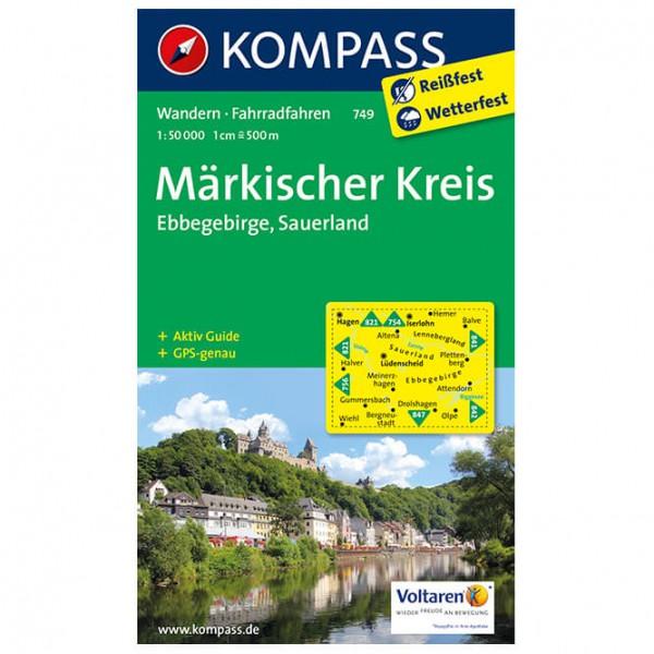Kompass - Märkischer Kreis - Vandrekort