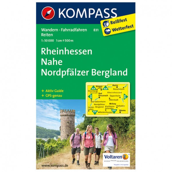 Kompass - Rheinhessen - Vaelluskartat