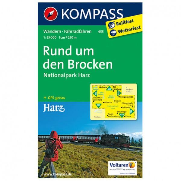 Kompass - Rund um den Brocken - Hiking map