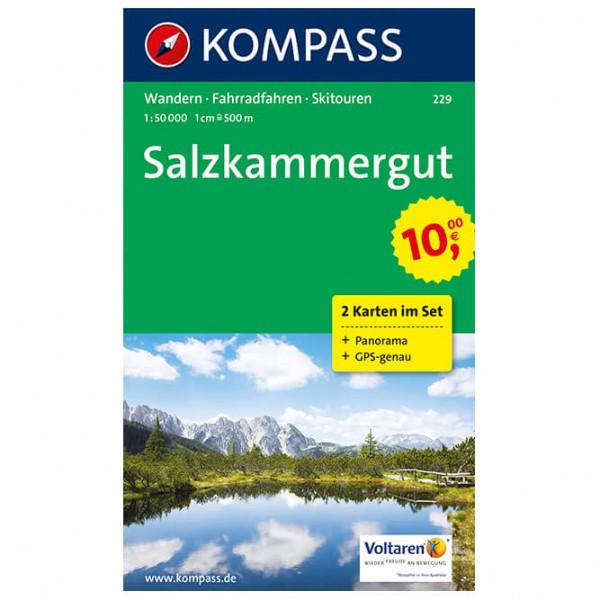 Kompass - Salzkammergut - Hiking map