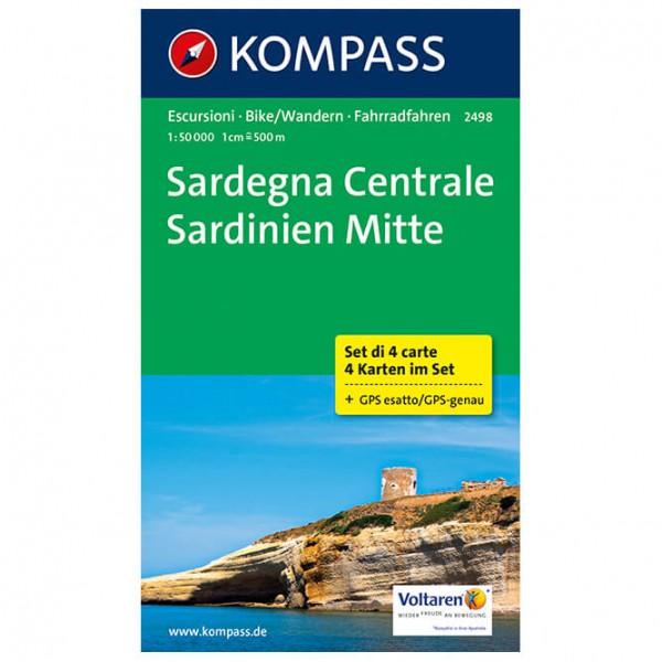 Kompass - Sardinien Mitte - Vandringskartor