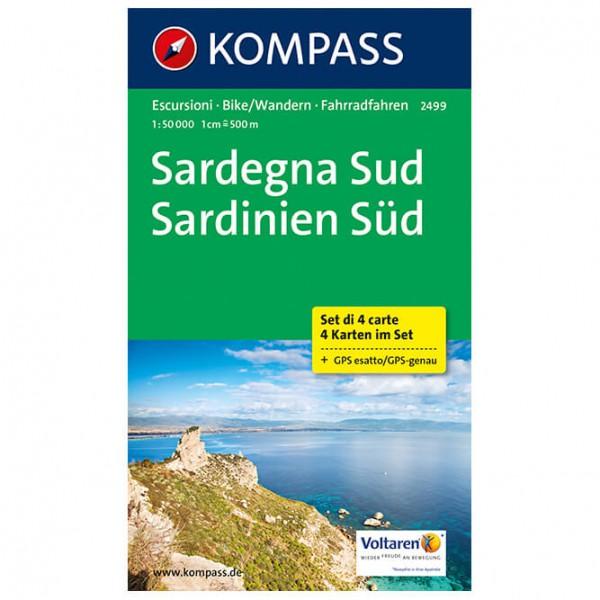Kompass - Sardinien Süd - Wandelkaarten