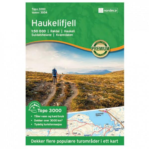 Nordeca - Haukelifjell 1/50 - Vaelluskartat