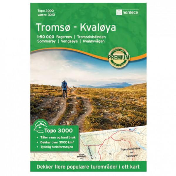 Nordeca - Tromso - Kvaloya 1/50 - Vandringskartor