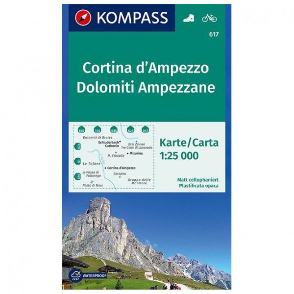 Kompass - Cortina d'Ampezzo / Dolomiti Ampezzane - Hiking map