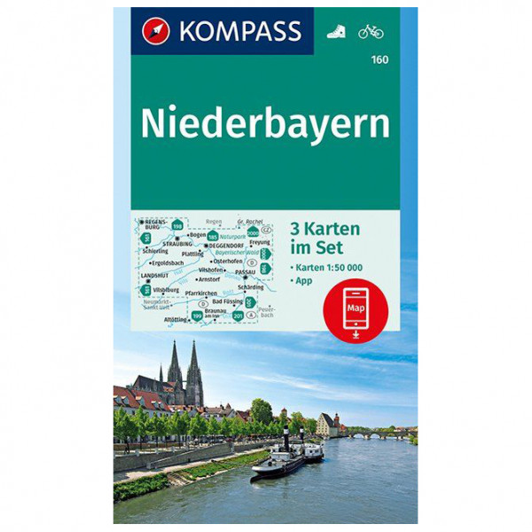 Kompass - Niederbayern - Hiking map