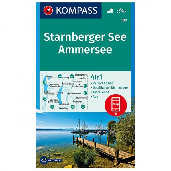 Kompass - Starnberger See, Ammersee - Vandringskartor