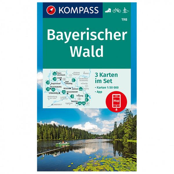 Kompass - Bayerischer Wald - Vandrekort