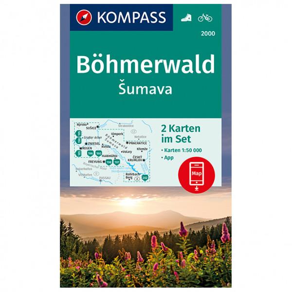 B ¶hmerwald,  Å umava - Hiking map