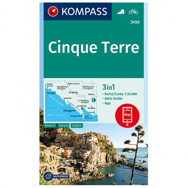 Kompass - Cinque Terre - Vandringskartor