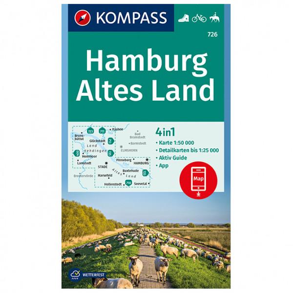 Hamburg, Altes Land - Hiking map