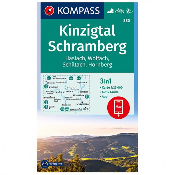 Kompass - Kinzigtal Schramberg, Haslach, Wolfach, Schiltach - Vandrekort