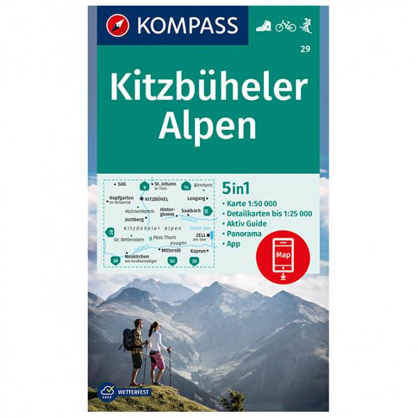 Kompass - Kitzbüheler Alpen - Hiking map