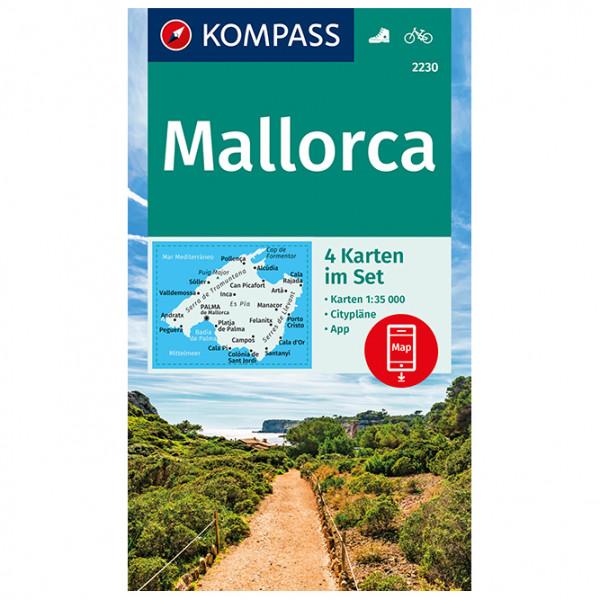 Kompass - Mallorca - Hiking map