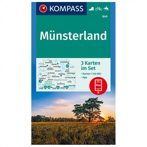 Kompass - Münsterland - Vandringskartor