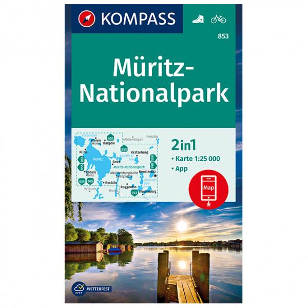 Mritz-Nationalpark - Hiking map