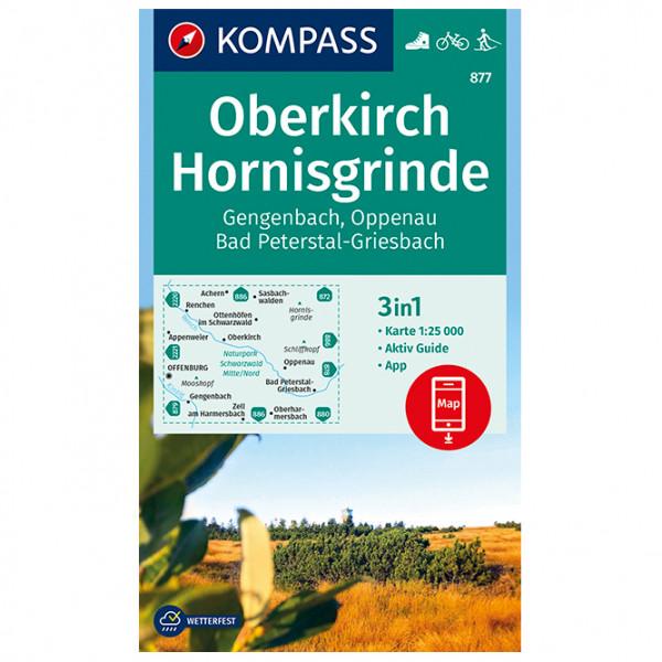 Kompass - Oberkirch, Hornisgrinde, Gengenbach, Oppenau - Hiking map