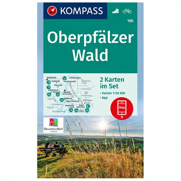 Kompass - Oberpfälzer Wald - Vandrekort