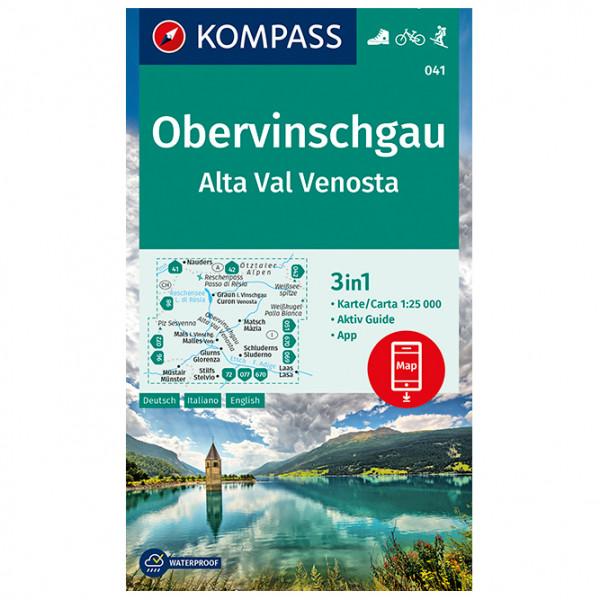 Kompass - Obervinschgau, Alta Val Venosta - Turkart