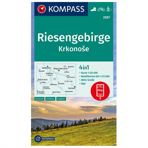 Kompass - Riesengebirge, Krkonose - Wandelkaart