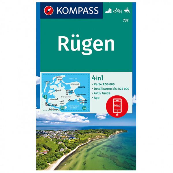 Kompass - Rügen - Vaelluskartat
