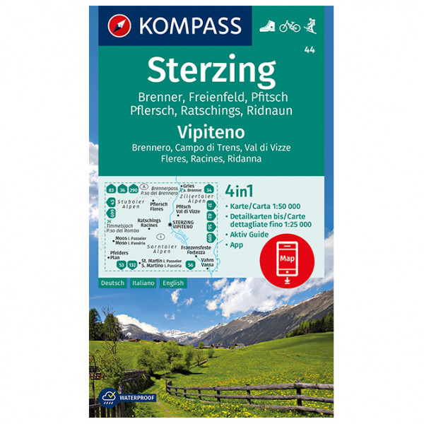 Kompass - Sterzing, Vipiteno - Turkart