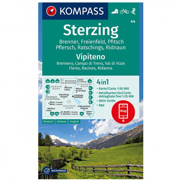 Kompass - Sterzing, Vipiteno - Vaelluskartat