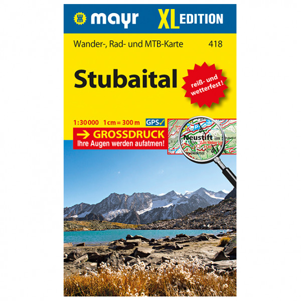 Kompass - Stubaital XL - Wandelkaarten