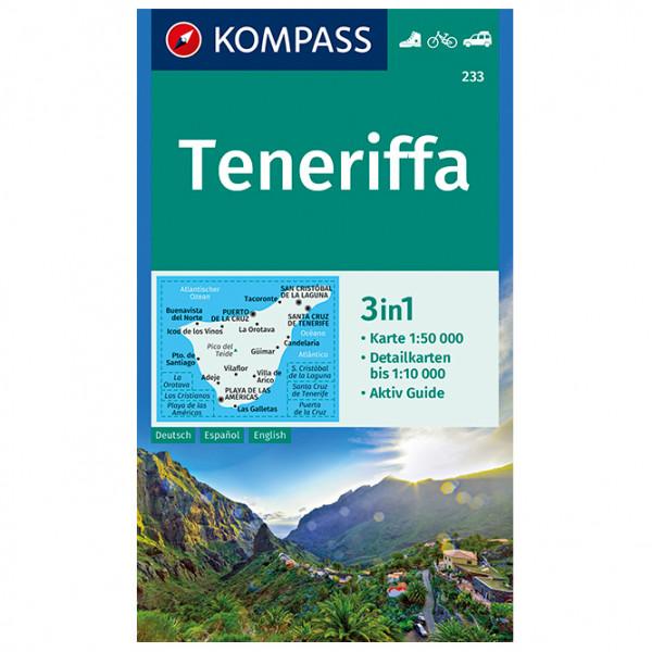 Kompass - Teneriffa - Wanderkarte