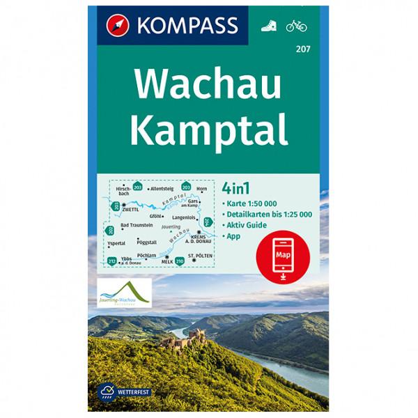 Wachau, Kamptal - Hiking map